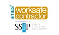 Worksafe contractor Logo Portrait