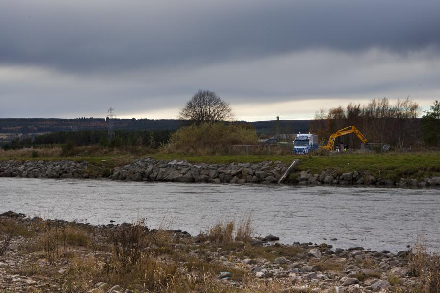 Drilling Under the Spey